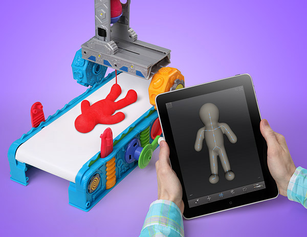 play doh 3d printer 2