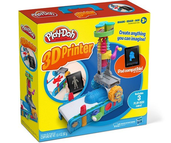 Play-Doh 3D Printer: Print Stuff, Don't Eat It