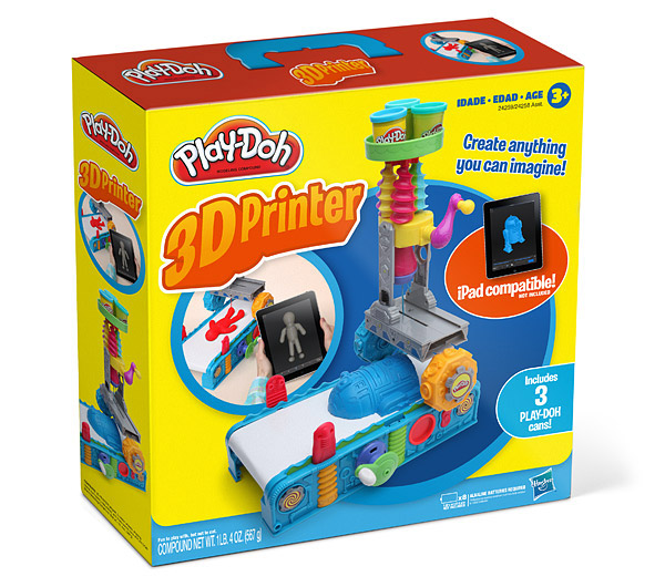 play doh 3d printer box