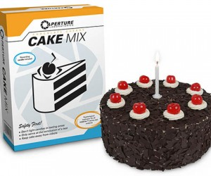 Aperture Labs Cake Mix is Kinda Not a Lie