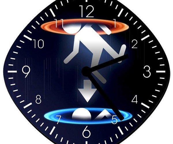 Portal Wall Clock: Time for Testing