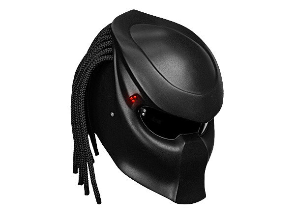 Predator Motorcycle Helmet Has no Active Camouflage Mode
