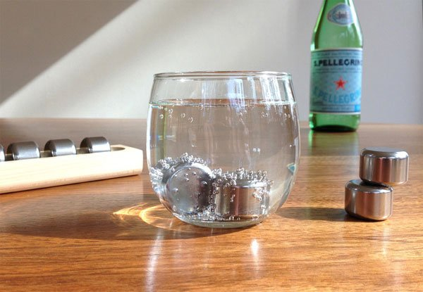 Pucs Promise to Chill Your Drinks without Adding Water