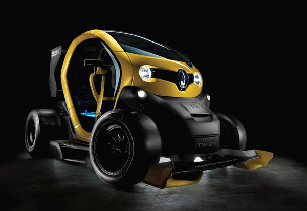 renault twizy ev concept photo