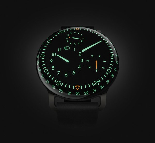 ressence type 3 watch gravitational front photo