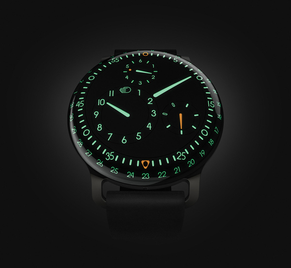 ressence type 3 watch gravitational front