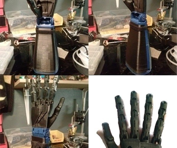 3D Printed Robot Hand Raises its Hand for Pledges on Kickstarter