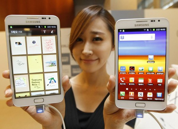 samsung galaxy mega display photo