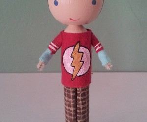 sheldon cooper clothespin doll 300x250