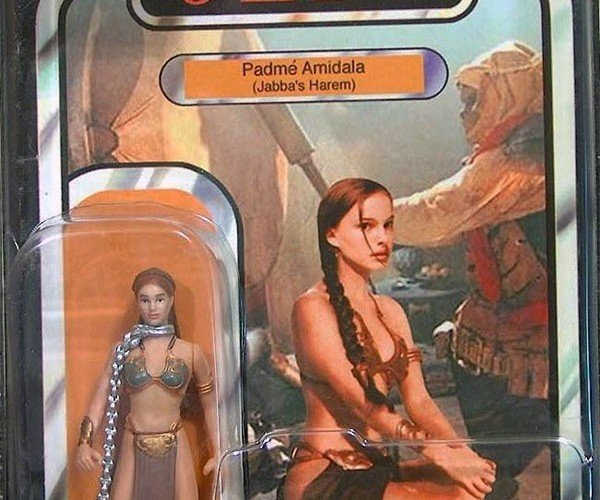 Slave Padme Action Figure: Leia's Mother Dresses Like Her Daughter