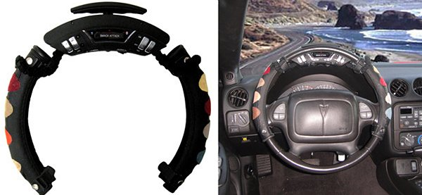 Smack Attack Steering Wheel Drum Kit: Drum & Drive