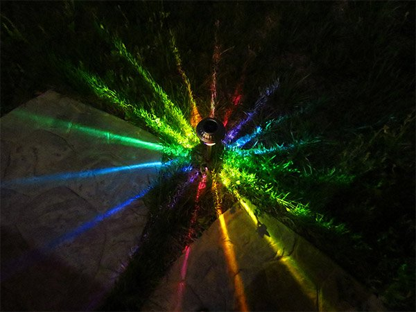 Moodlights Led Outdoor Lights Add A Splash Of Color To