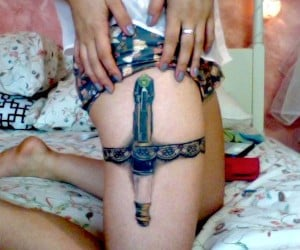 Sonic Screwdriver Tattoo Won't Unlock Doors, but is the Key to My Heart