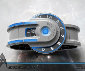 Excelsior Starship Watch Concept: It's Federation Time