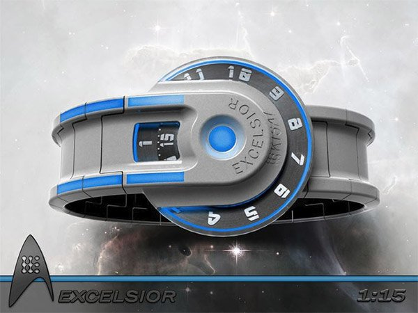 starship excelsior watch