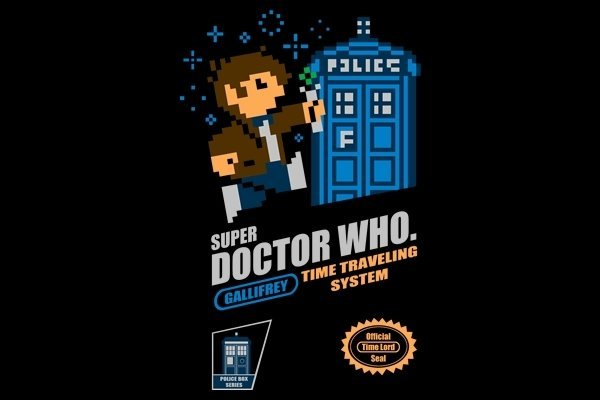 Super Doctor Who Time Traveling System Shirt