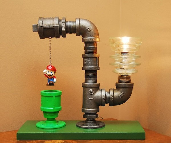 Super Mario Bros. Lamp Lights up the Darkest Secret Areas of Your Mushroom Kingdom