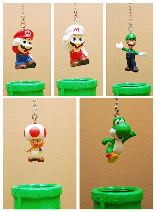 Super Mario Bros. Lamp Lights up the Darkest Secret Areas of Your Mushroom Kingdom - Technabob