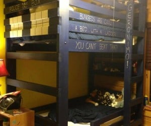 TARDIS Bunk Bed: Time and Relative Dimension in Sleep