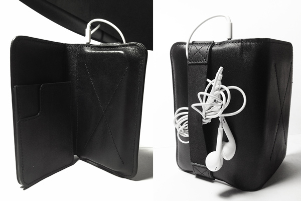 tigdi iphone wallet case earphones