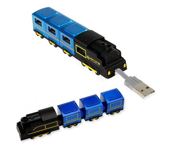 USB Train Hubs: Choo-Choo Connectivity