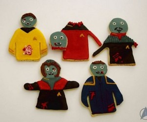 Star Trek Captains Zombie Cookies: To Boldly Chew…