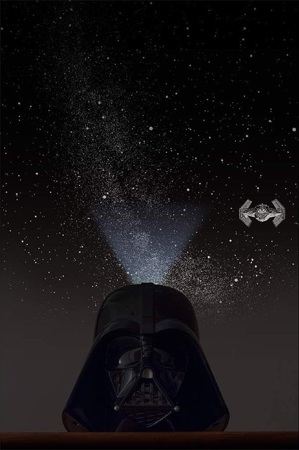 Darth Vader Homestar Projector The Light Side Of The Dark