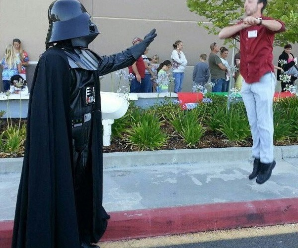 Vadering is the New Planking: AKA Your Lack of Photoshop is Disturbing