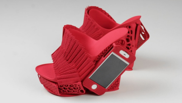 3D-printed designer shoe1