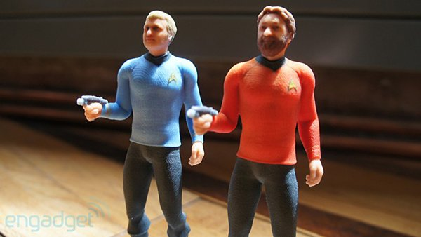3d printed star trek figurines by cubify