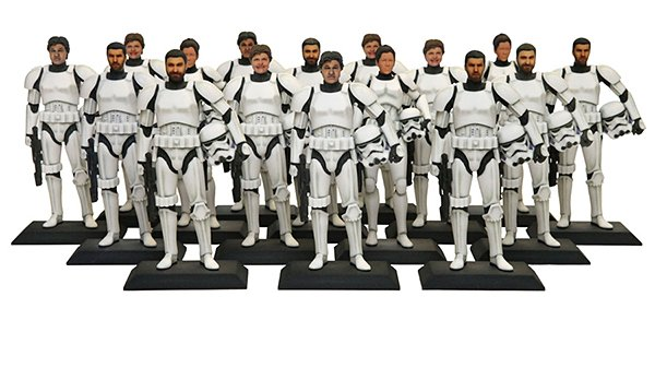 3d printed star wars stormtroopers by disney