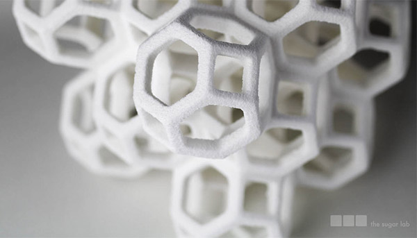 3d printed sugar 3