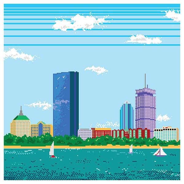 8 bit boston