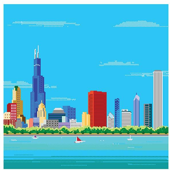 8 bit chicago