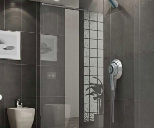 Air Shower Concept is a Shower and Dryer in One