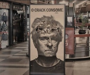 Anti-Crack Ad is Slowly Eaten by Insects: This is Your Brain on Bugs