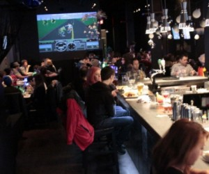 EXP Levels up Gamers with Food and Drink