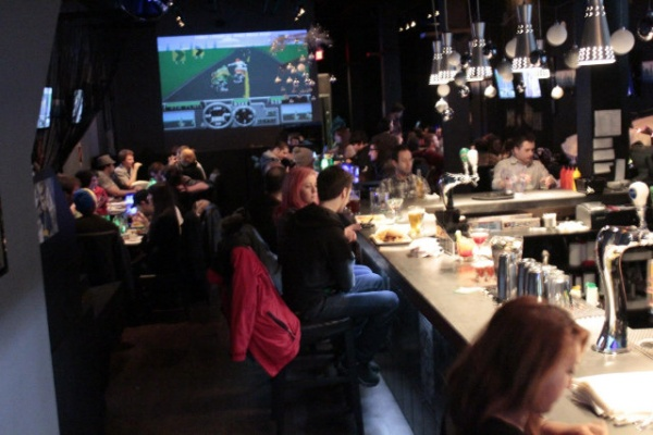 exp levels up gamers with food and drink technabob