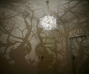 Chandelier Turns Your Room into a Forest