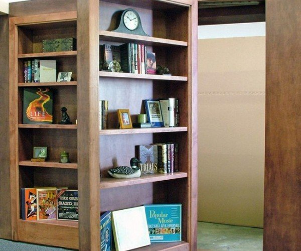 You Can Buy a Hidden Bookcase off the Shelf