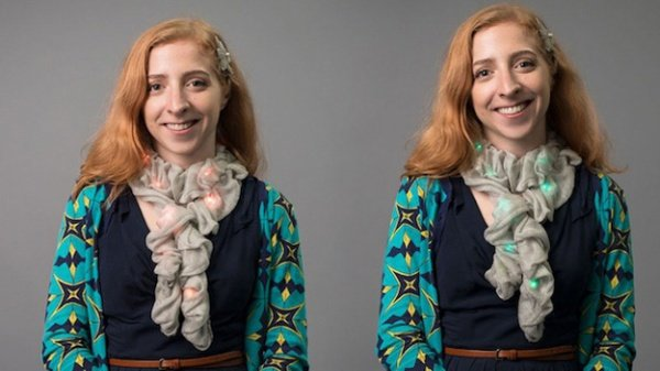 Color-Changing LED Scarf Will Match Your Every Outfit