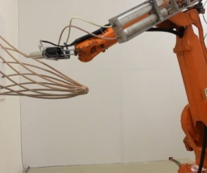Mataerial Anti-Gravity 3D Printer is Literally Off the Wall