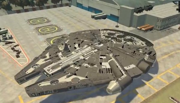 Grand Theft Auto IV Millennium Falcon Mod: Does the Liberty City Run in 12 Parsecs