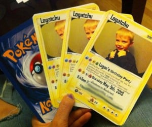 Pokémon Card Party Invitations: Gotta Invite 'Em All
