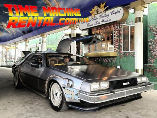 Pay for a Blast from the Past: Rent a 'Back to the Future' DeLorean