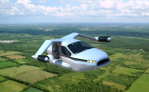 Terrafugia Unveils Self-Driving, Self-Landing Flying Car: The Shuttlecraft is Almost a Reality - Technabob