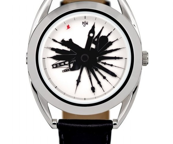 Time Traveller Watch Tells Time Around the World, All at Once