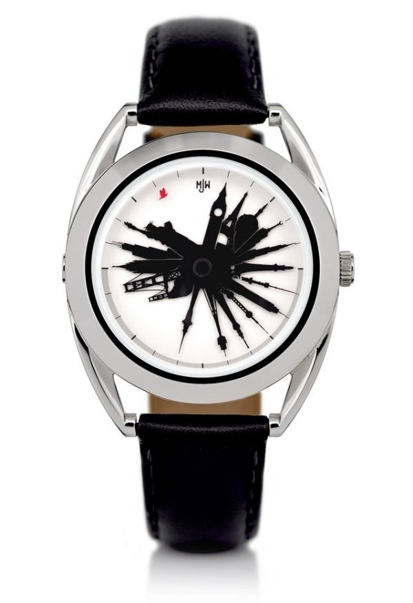 Time Traveller Watch Tells Time Around the World, All at Once - Technabob