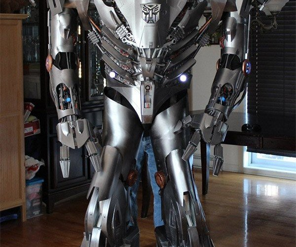 Awesome Homemade Transformers Costume: Geek in Disguise