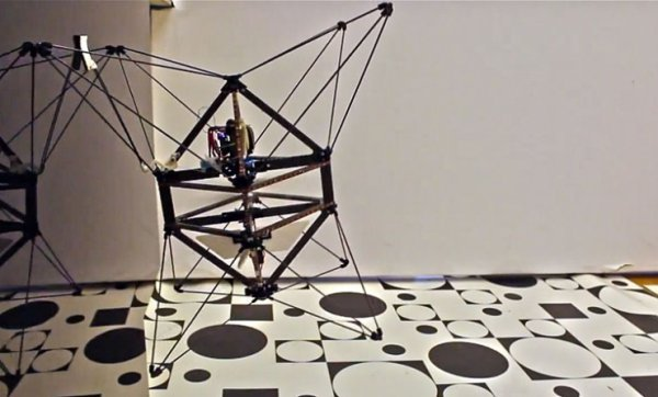 Airburr Flying Robot Attaches to Walls, Someday Your Face